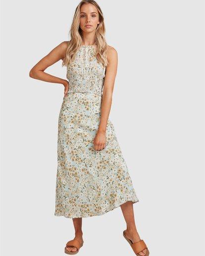 7 Del Mar Midi Skirt Blue 6504323 Billabong