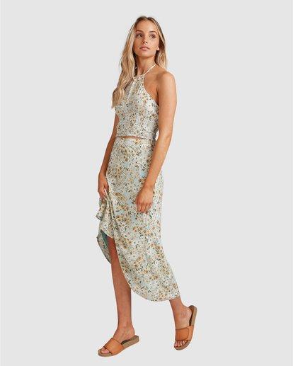 9 Del Mar Midi Skirt Blue 6504323 Billabong