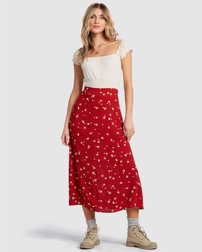 0 Flirty Daze Skirt Orange 6504325 Billabong
