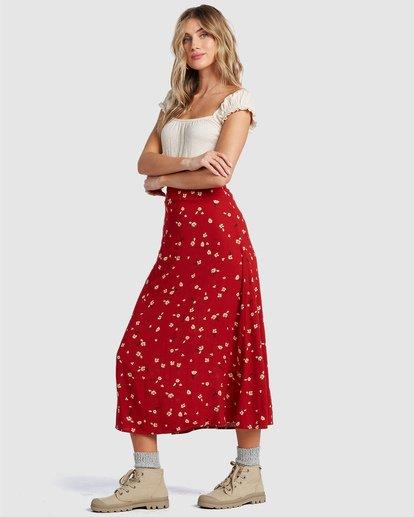 1 Flirty Daze Skirt Orange 6504325 Billabong