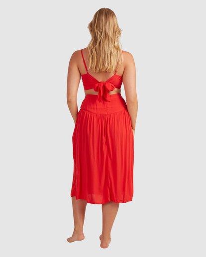 3 Mrs. Miller Skirt - Steph Claire Smith Red 6504327 Billabong