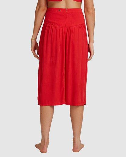 8 Mrs. Miller Skirt - Steph Claire Smith Red 6504327 Billabong