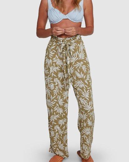 4 Lei Lei Pants Green 6504440 Billabong