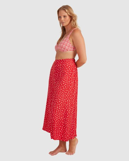 1 Cherry Bomb Pants - Steph Claire Smith Red 6504448 Billabong