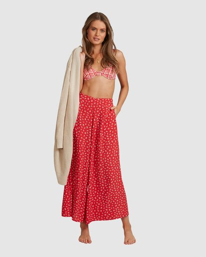 2 Cherry Bomb Pants - Steph Claire Smith Red 6504448 Billabong