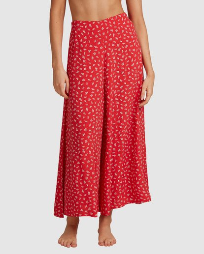 5 Cherry Bomb Pants - Steph Claire Smith Red 6504448 Billabong