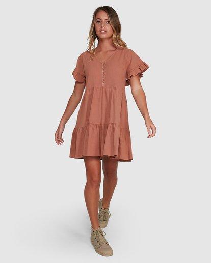 7 Eden Dress Brown 6504461 Billabong
