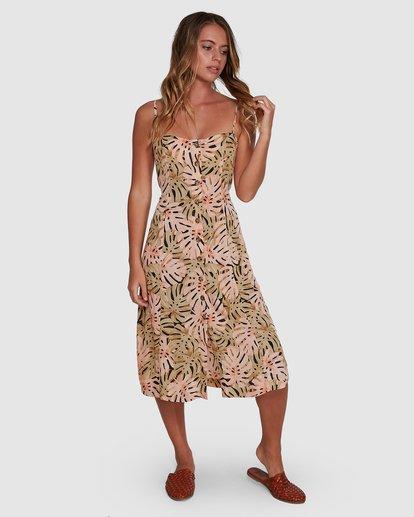 4 Hula Palm Paradiso Dress Black 6504463 Billabong