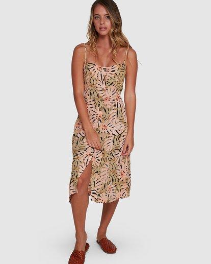 0 Hula Palm Paradiso Dress Black 6504463 Billabong