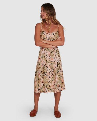 1 Hula Palm Paradiso Dress Black 6504463 Billabong