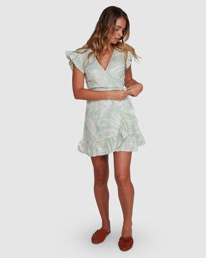 6 Haze Wrap Dress Green 6504466 Billabong