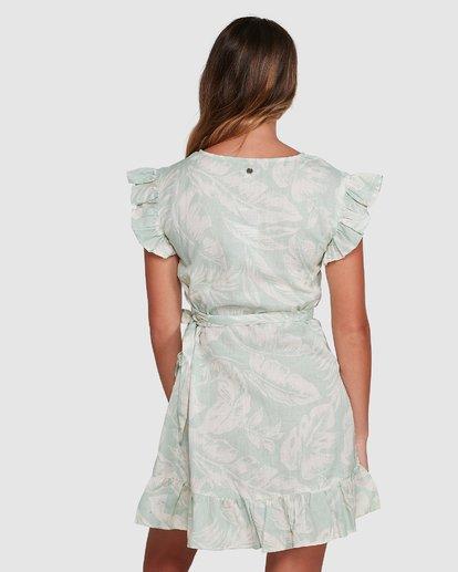 3 Haze Wrap Dress Green 6504466 Billabong