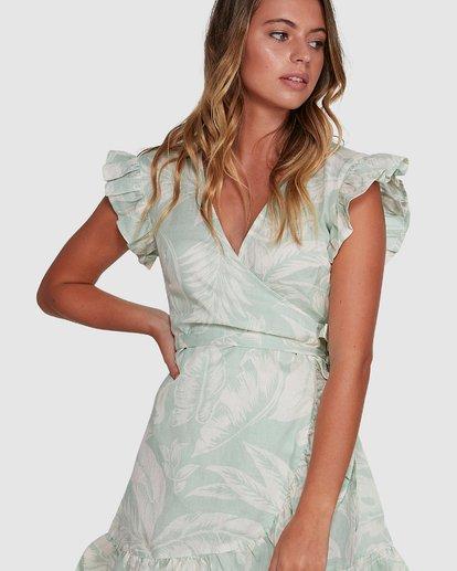 4 Haze Wrap Dress Green 6504466 Billabong