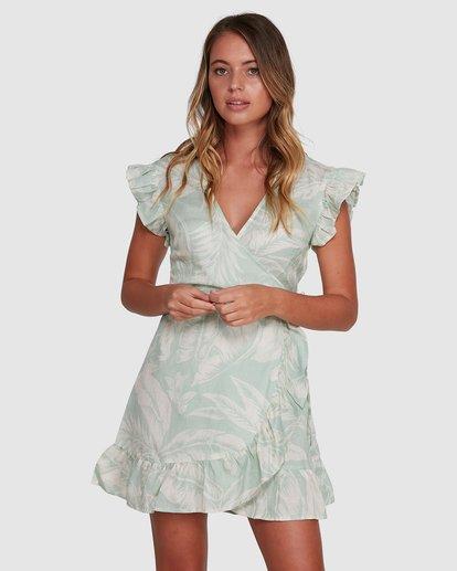 1 Haze Wrap Dress Green 6504466 Billabong