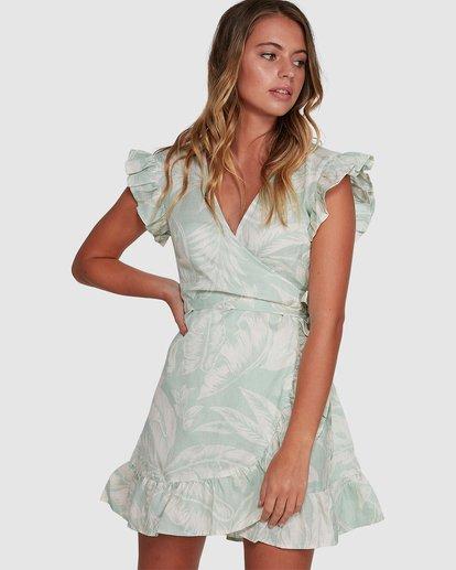 0 Haze Wrap Dress Green 6504466 Billabong