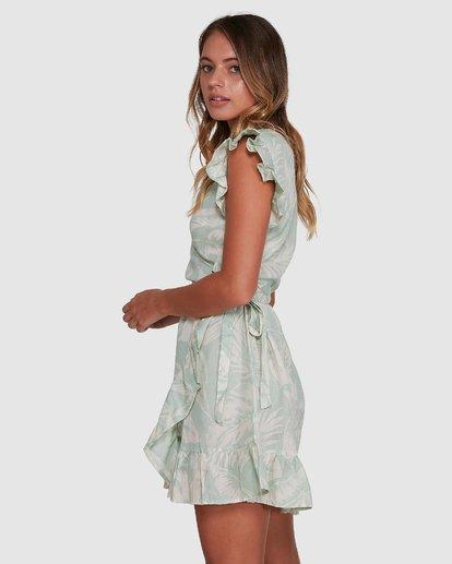 2 Haze Wrap Dress Green 6504466 Billabong