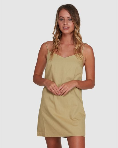 1 Candy Dress Green 6504469 Billabong