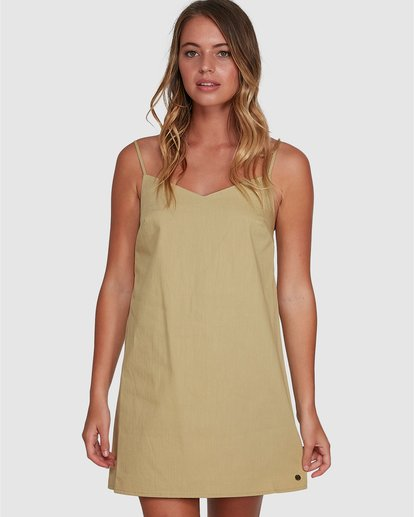 0 Candy Dress Green 6504469 Billabong