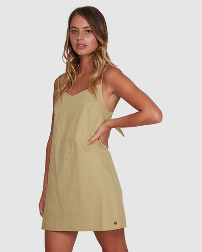2 Candy Dress Green 6504469 Billabong