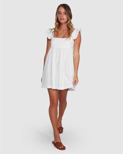 6 Frenchie Dress White 6504471 Billabong