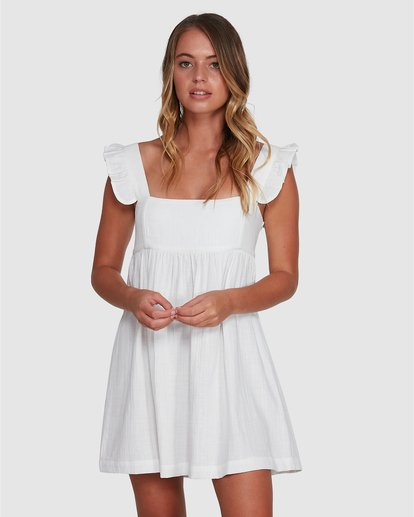 1 Frenchie Dress White 6504471 Billabong