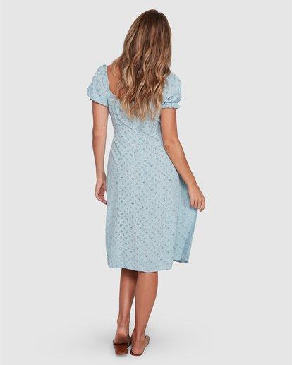 4 Seamist Midi Dress Blue 6504474 Billabong