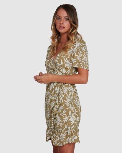 2 Lei Lei Wrap Dress Green 6504477 Billabong