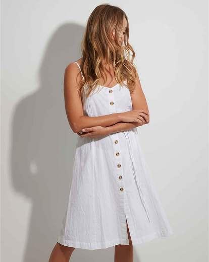 0 Paradiso Dress White 6504478 Billabong