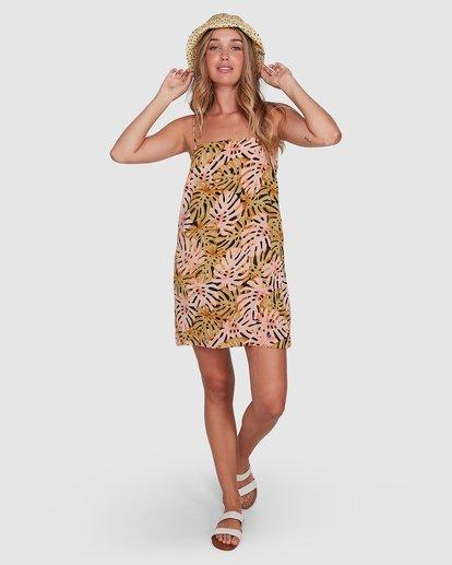 6 Hula Palms Sunset Dress Black 6504486 Billabong