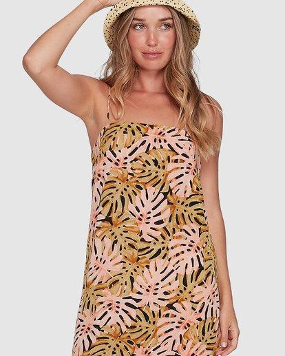 5 Hula Palms Sunset Dress Black 6504486 Billabong