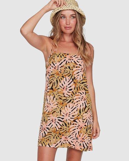 1 Hula Palms Sunset Dress Black 6504486 Billabong