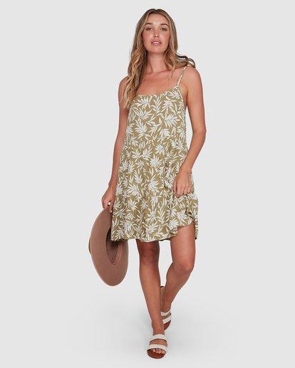 6 Lei Lei Bluebell Dress Green 6504487 Billabong