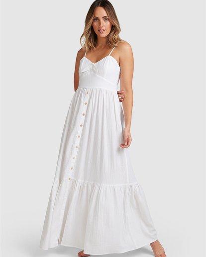 6 Franca Midi Dress White 6504489 Billabong