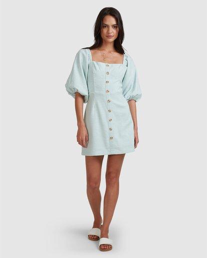 5 White Sand Dress Blue 6504494 Billabong