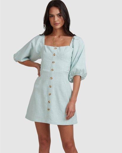 0 White Sand Dress Blue 6504494 Billabong
