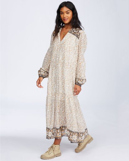 0 Storm Rider Dress Beige 6504495 Billabong
