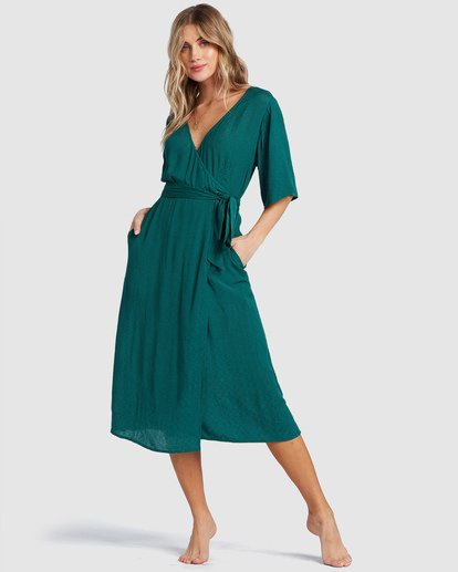 0 Shorebreak Dress Green 6504497 Billabong