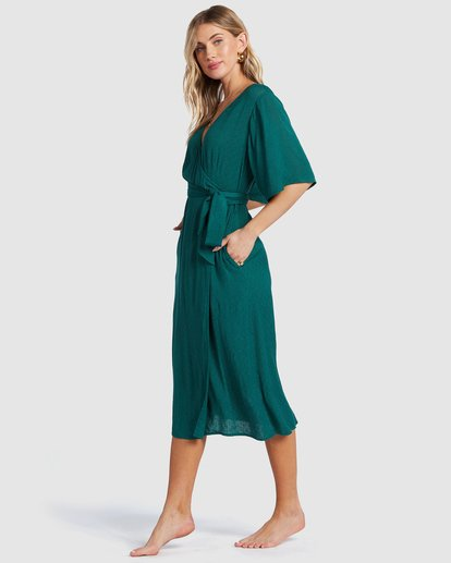 1 Shorebreak Dress Green 6504497 Billabong