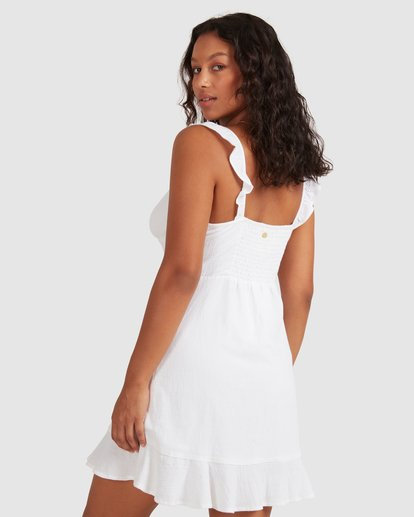 2 Beach Bliss Dress - Steph Claire Smith White 6504508 Billabong