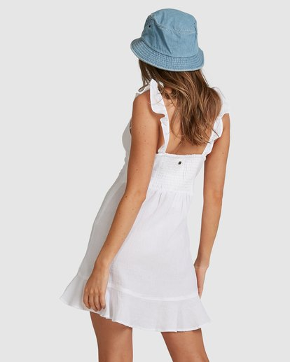 6 Beach Bliss Dress - Steph Claire Smith White 6504508 Billabong