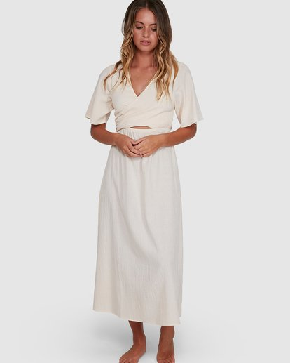 4 Cook Island Dress White 6504621 Billabong