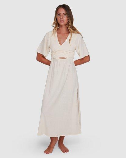 1 Cook Island Dress White 6504621 Billabong