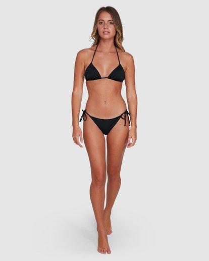 6 Sol Searcher Slide Tri Bikini Top Black 6504701 Billabong
