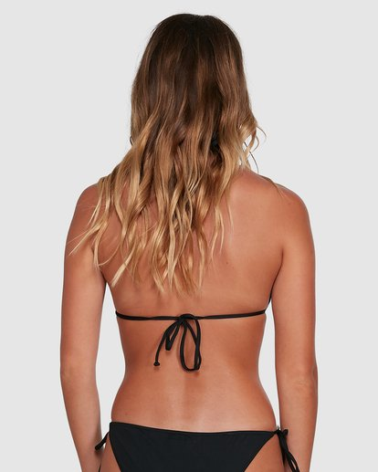 2 Sol Searcher Slide Tri Bikini Top Black 6504701 Billabong