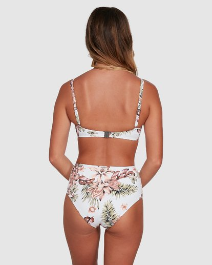 5 Easy Love Mia D/DD Bralette Bikini Top White 6504705 Billabong