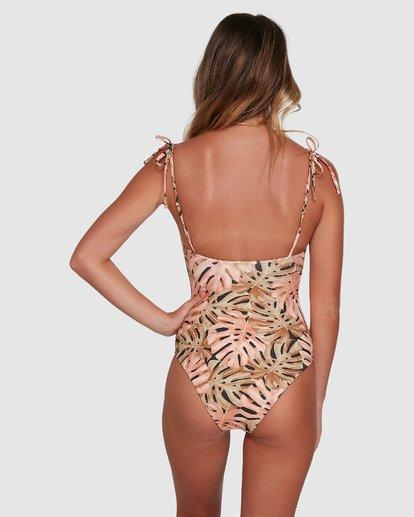 4 Hula Palm One Piece Black 6504720 Billabong