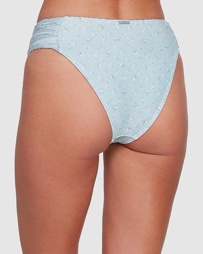 6 Sea Mist Gathered Bondi Bikini Bottoms Blue 6504747 Billabong