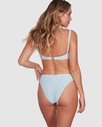 8 Sea Mist Gathered Bondi Bikini Bottoms Blue 6504747 Billabong