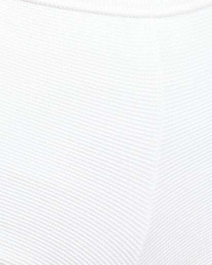 7 Waffle One Shoulder Crop Bikini Top White 6504749 Billabong
