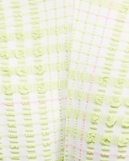 7 Picnic Check Long Wrap Tri Bikini Top Green 6504760 Billabong